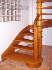 Arranque de escalera de diseño