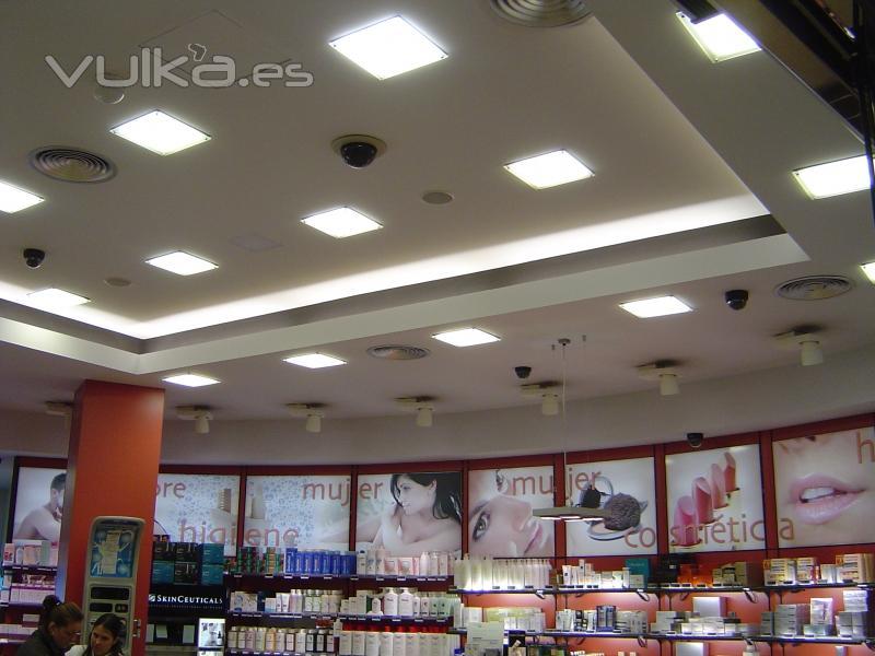 Foto techos e iluminacion - Iluminacion falso techo ...