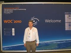 Doctor miguel march en congreso mundial de oftalmolog�a (woc). berl�n, junio 2010.