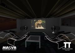 Proyecto 3d interior