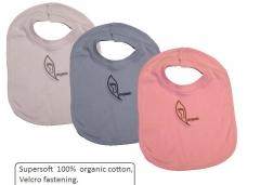 Baberos de algodon organico