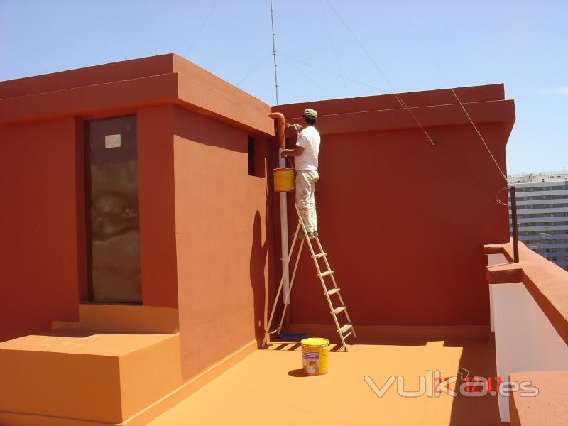 Foto impermeabilizaci n de terrazas sikafill de sika - Sika pintura impermeabilizante ...