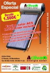 Sevilla. instalaci�n de equipos solares