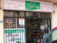 Alimentación marina. tienda de alimentación desde 1972