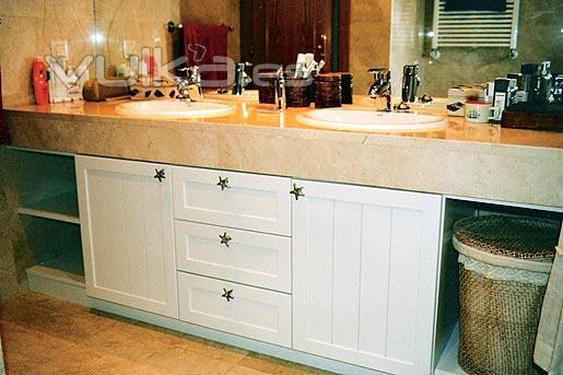 Muebles De Bano A Medida Of Foto Mueble De Ba O A Medida Lacado En Blanco Mate