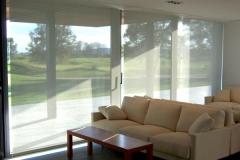 Confecci�n de cortinas enrollables motorizadas