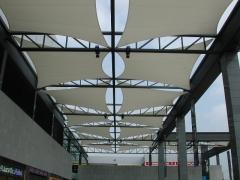 Velas textiles centro comercial gran via 2