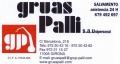 GRUAS PALLI, S.A.U.