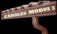 CANALONES MODUS 3