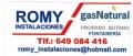 ROMY_GAS Instalaciones