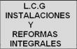 instalaciones y reformas integrales L.C.G