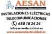 AESAN Electricidad - Telecomunicaciones