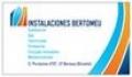 Instalaciones Bertomeu - 965000478