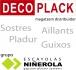 DECOPLACK distribucions  - grupo ESCAYOLAS NI�EROLA