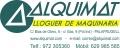 ALQUIMAT - ALQUILER DE MAQUINARIA