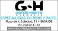 DEPORTES GARC�A - HIERRO S.A.