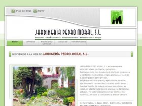 Jardiner a pedro moral s l for Jardineria moral barcelona