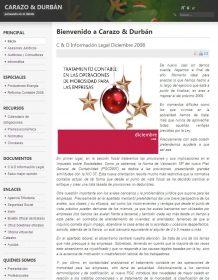 CARAZO & DURB�N CONSULTORES