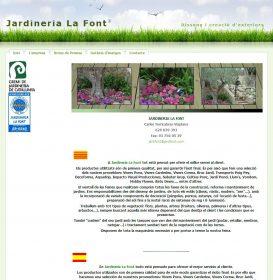 Jardiner a la font - Jardineria la font ...
