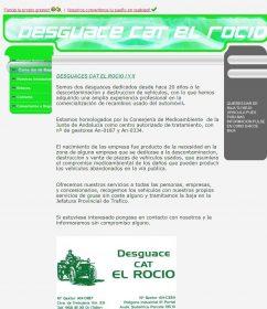 DESGUACE EL ROC�O