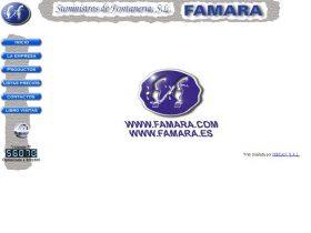 FAMARA SUMINISTROS DE FONTANER�A S.L.