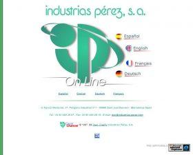 INDUSTRIAS P�REZ S.A.