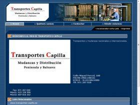 TRANSPORTES CAPILLA