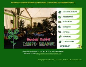Vivero garden center campo grande - Garden center valladolid ...